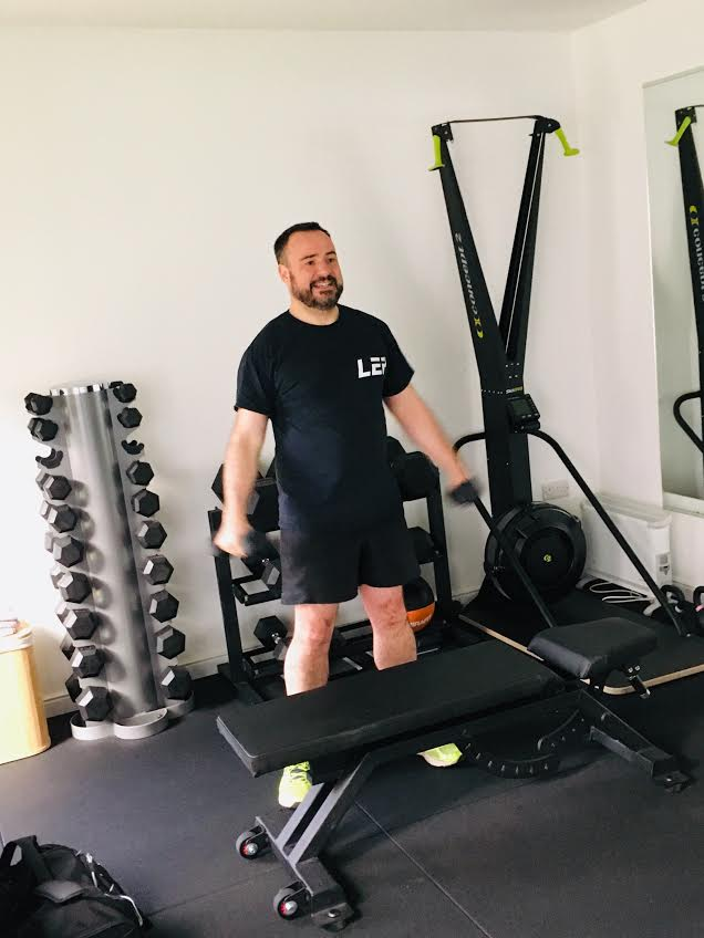 Richard training with LEP Fitness