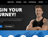 The Best 5 Themes for a Fitness Website