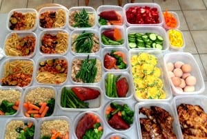 meal prep with LEP Fitness - sheffield personal trainer