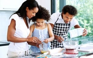 cooking with children - LEP Fitness