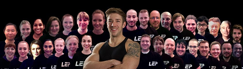 LEP Fitness gets amazing reviews for a personal trainer in the Sheffield area