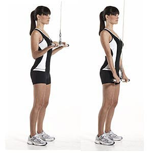 Standing-Cable-Tricep-Extension