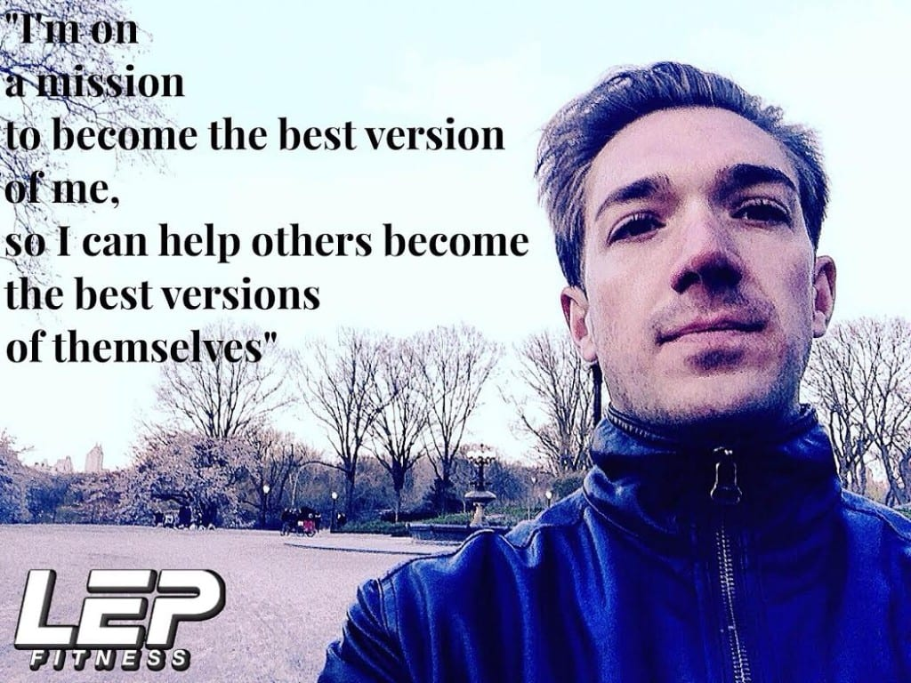 nick screeton legacy - owner of LEP Fitness a sheffield based personal training company