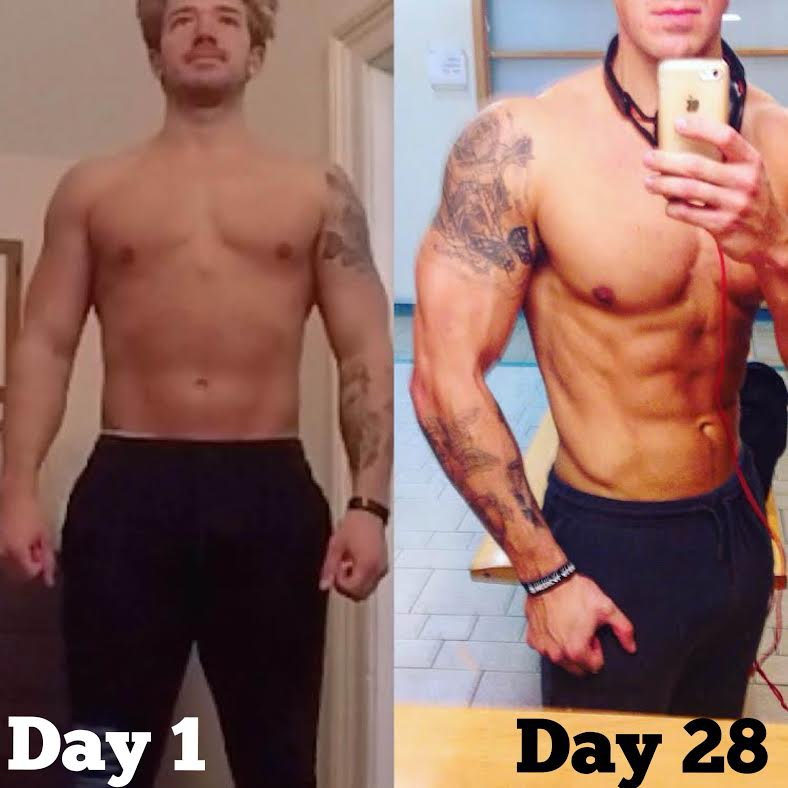 my results on the 28 Day Keto Challenge by LEP Fitness