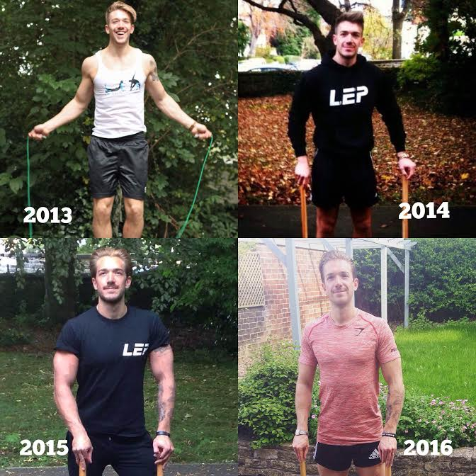 Thanking all the people that made LEP Fitness possible... - 4 years in business - sheffield's number one personal trainer Nick Screeton owner and founder of LEP Fitness voted best personal trainer in sheffield
