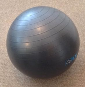 fitness ball in home gym - written by sheffield PT nickeh screetoni who is the owner of LEP Fitness in sheffield