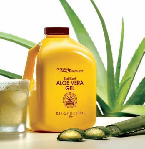 Can aloe vera gel boost overall health?