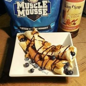 Who wants some Protein Crepes??? Well here's how to make them...