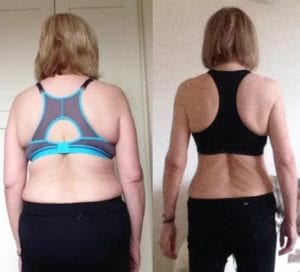 Julie results with LEP Fitness | Sheffield PT