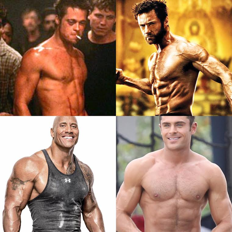 is it easier for hollywood actors to get ripped no excuses