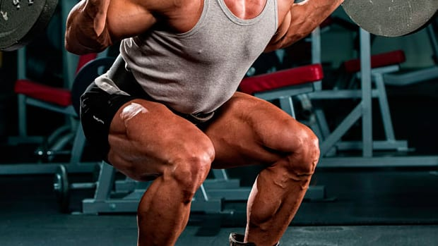 Squats Are King for bigger legs