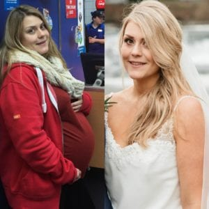 How Caroline lost 35 lbs for her Wedding Day…