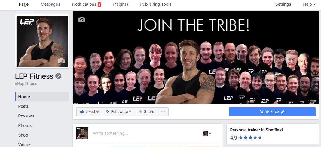 LEP Fitness - personal trainer sheffield