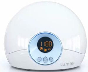 lumie alarm clock to help you sleep