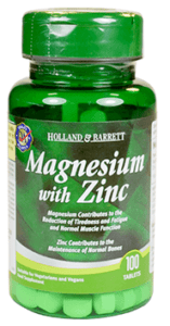 Take magnesium & zinc before bed