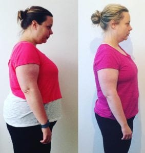 fat loss results with LEP Fitness   local based personal trainer