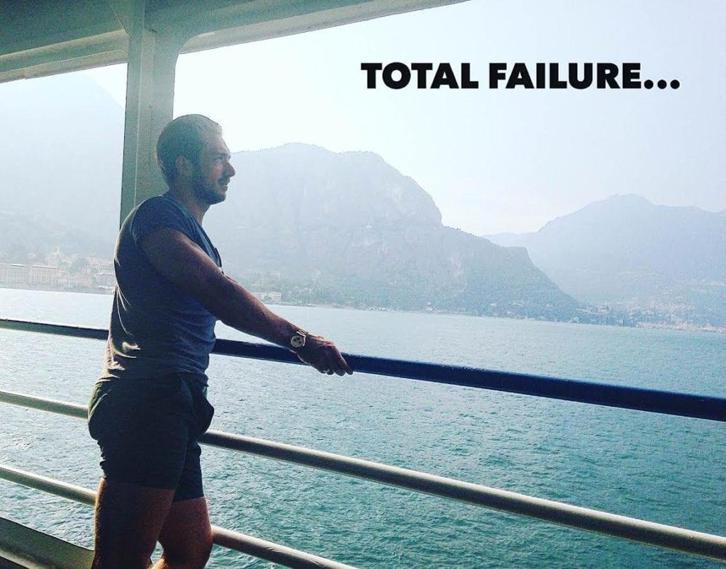 I TOTALLY FAILED...