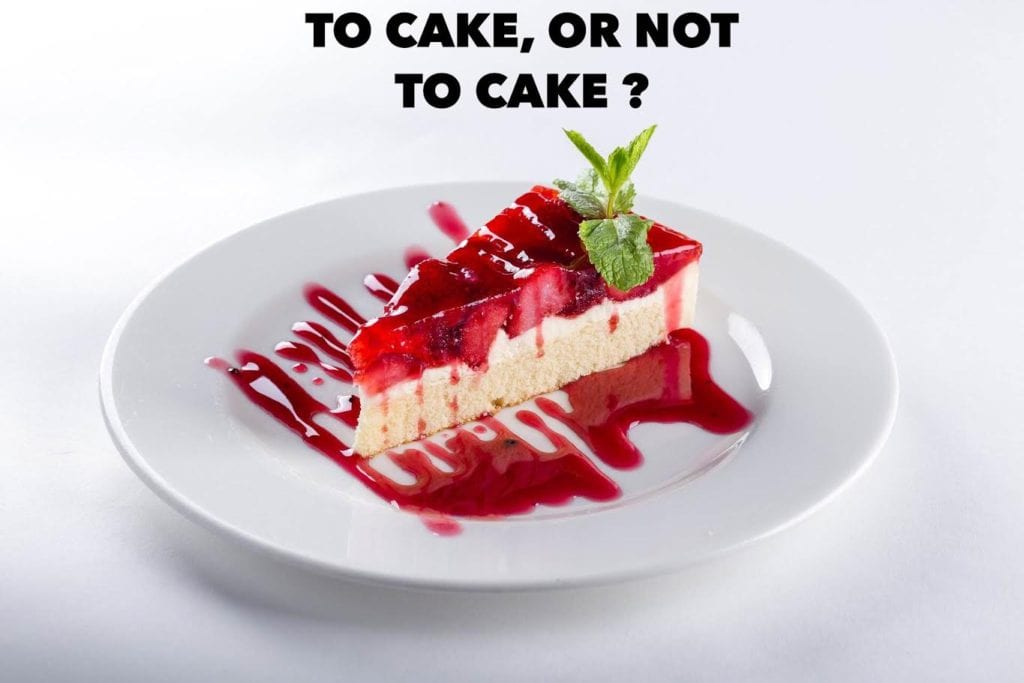 to cake or not to cake?