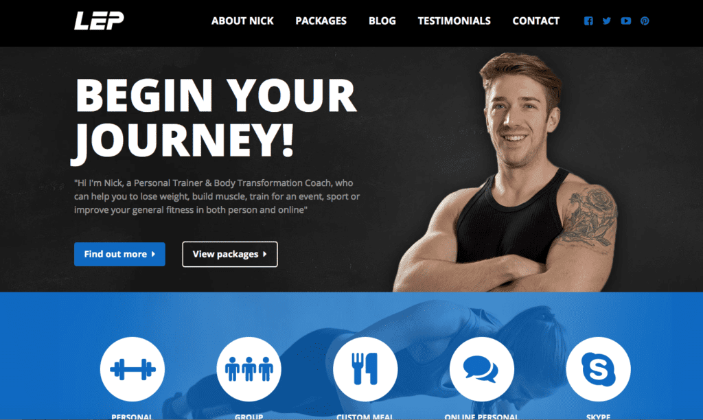 how to start an online personal training business