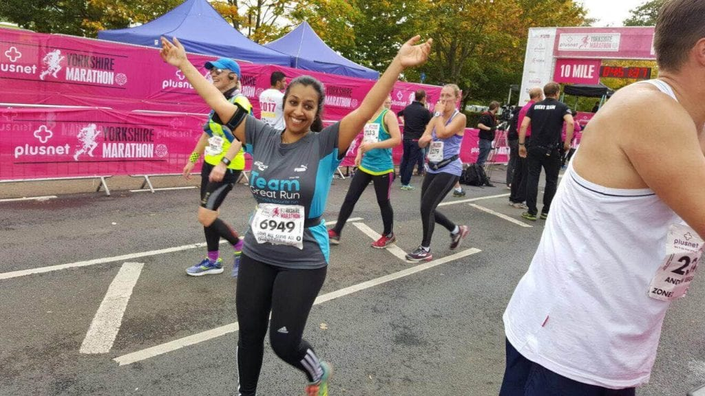 LEP Fitness helps Hannah run her first ever marathon