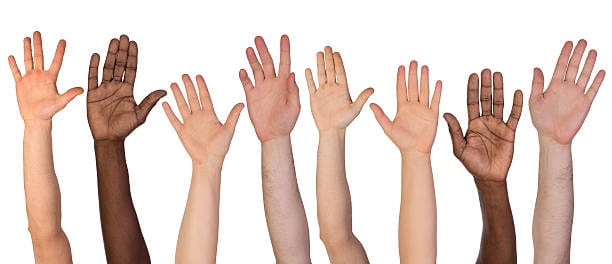 hands up if you want to lose weight?