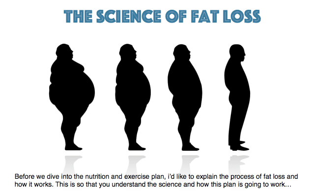 fat loss e-book by Sheffield personal trainer Nick Screeton