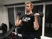 Rob training with personal trainer LEP Fitness