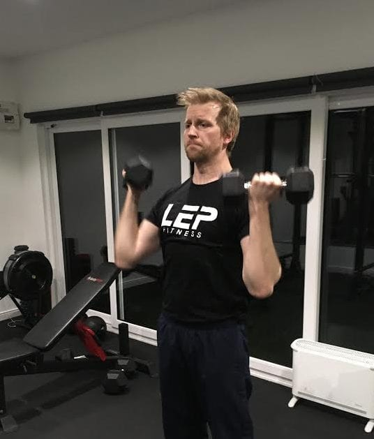 What Goes On During An LEP Fitness Personal Training Session - a look inside LEP Fitness