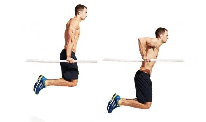 dips for muscle mass