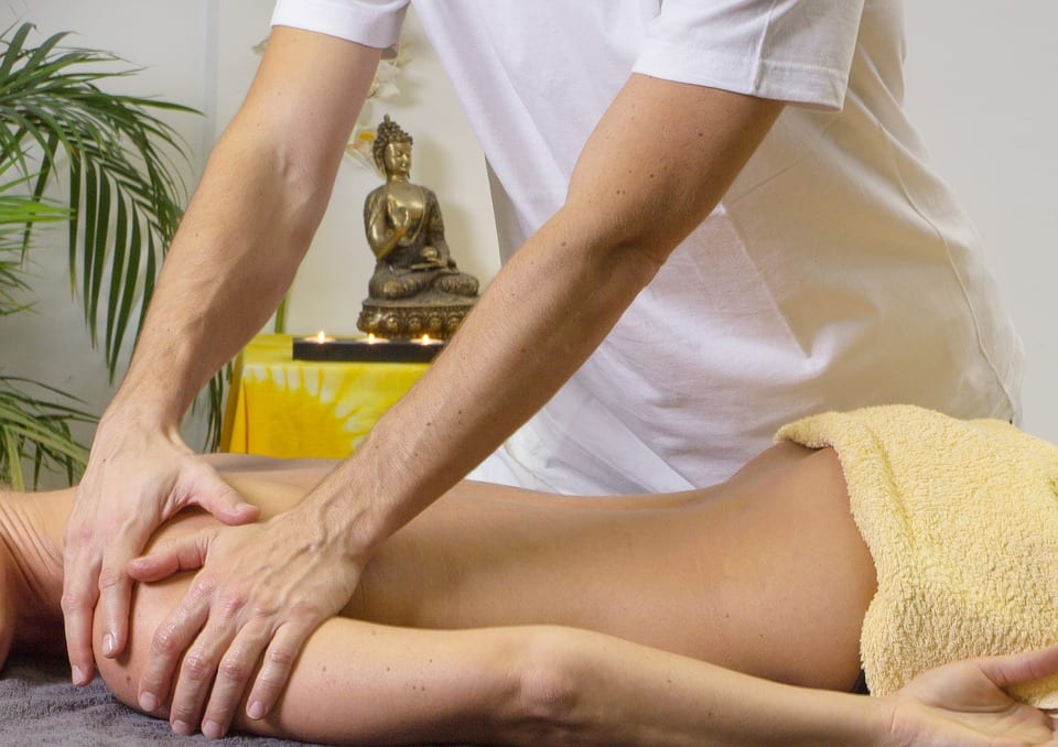 sports massage for DOMS
