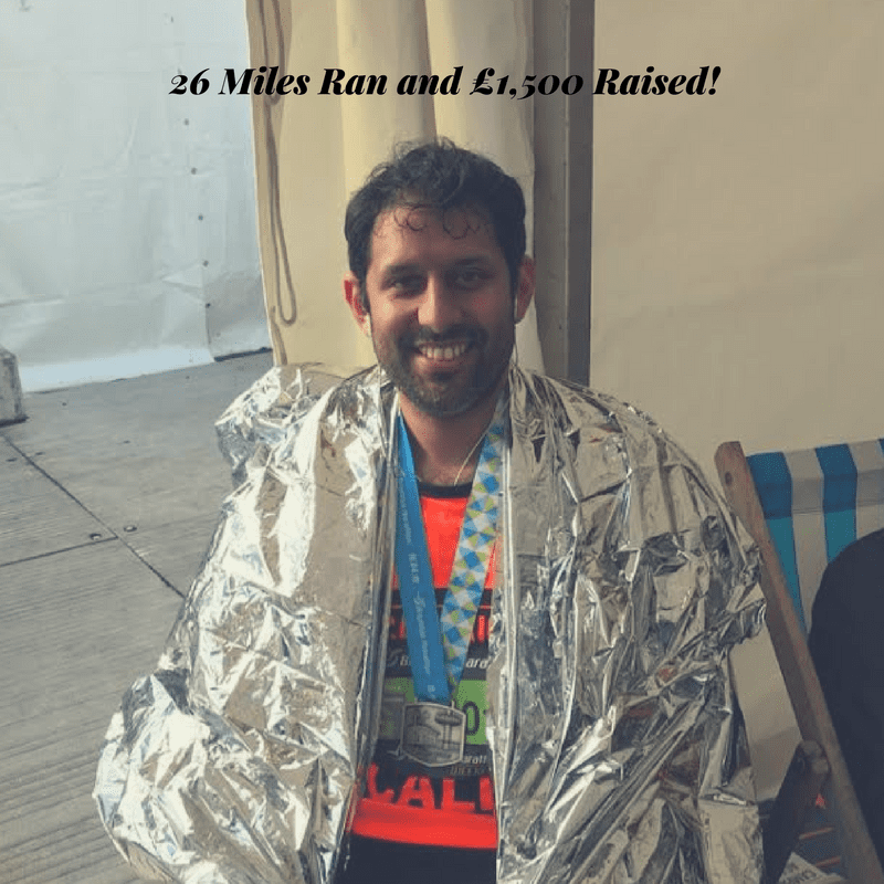Kab Runs A Marathon & Raises £1,500 for Charity : LEP Fitness