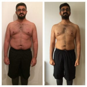 LEP Fitness member Fahd loses weight