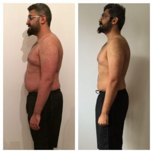 LEP Fitness weight loss results