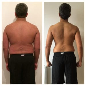 LEP Fitness weight loss transformation