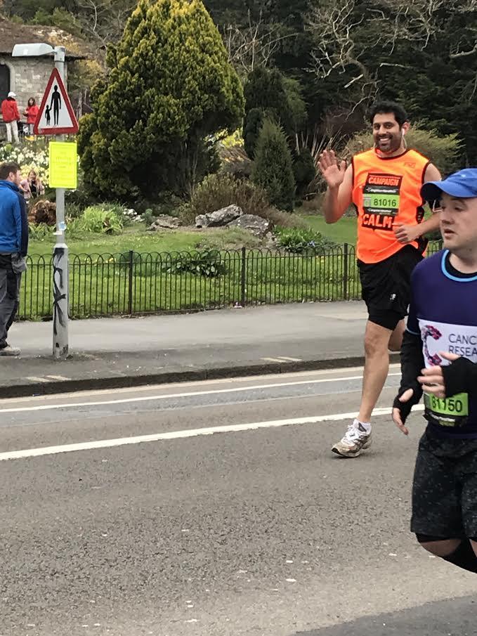 LEP Fitness member runs a marathon