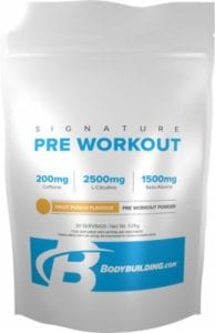 pre workout drink by bodybuilding.com