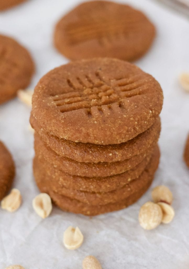 Keto Peanut Butter Cookies...
