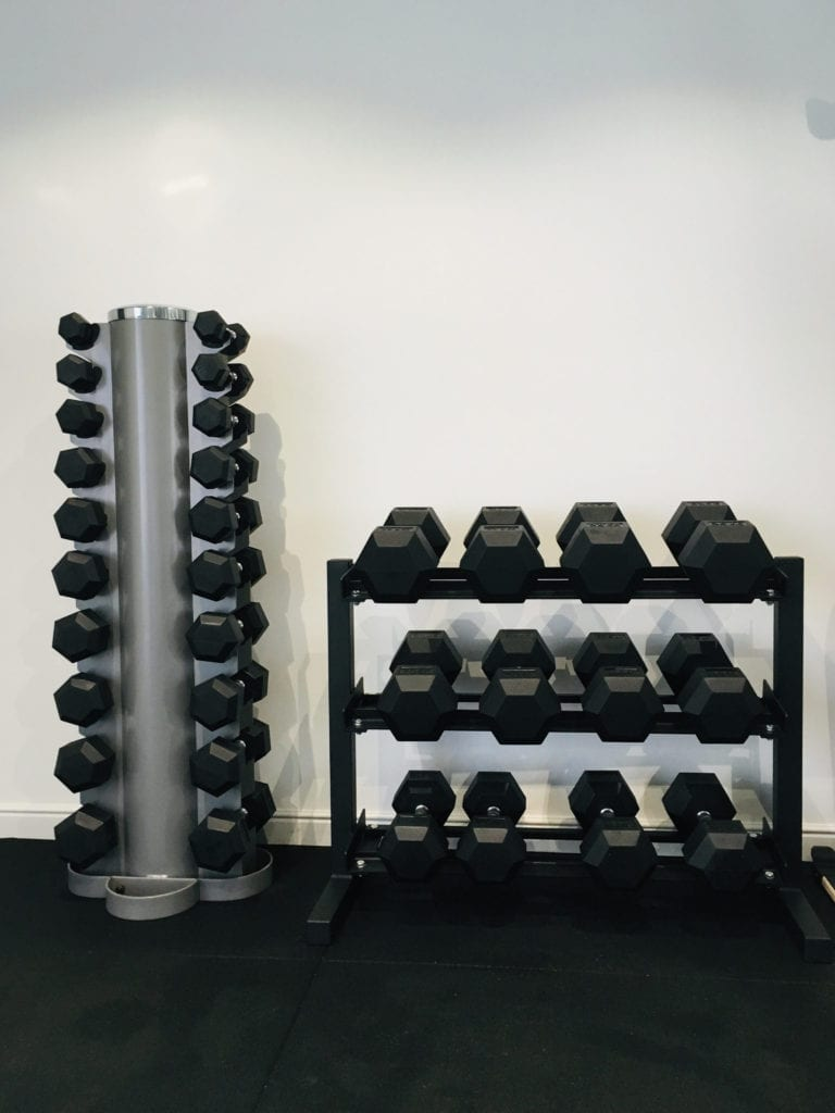 picture inside LEP Fitness personal training studio.