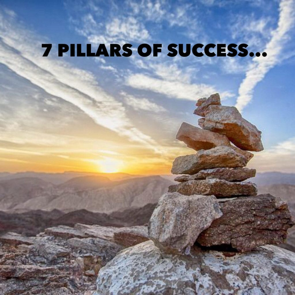 The 7 Pillars Of A Successful  Physical Transformation