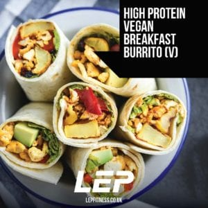 The High Performance Recipe Book By LEP Fitness - vegan