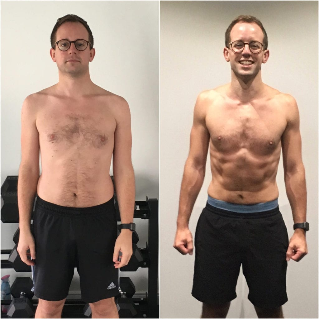 best personal trainer in Sheffield - LEP Fitness | Bens results - losing 20lbs