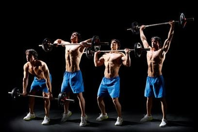 The clean and press LEP Fitness
