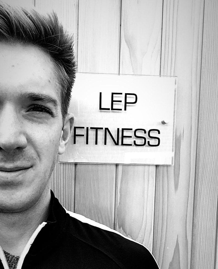sheffield PT Nick Screeton owner of LEP Fitness