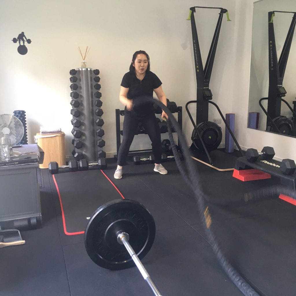 inside the lep fitness personal training studio