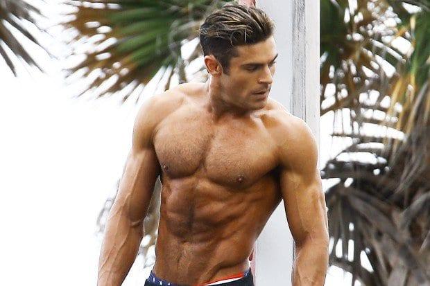 Zac Efron Baywatch   how to build a beach body