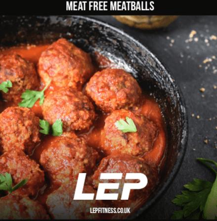 Meat Free Meatballs   vegan meal plan