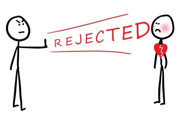Examples of Rejection for personal trainers | LEP Fitness