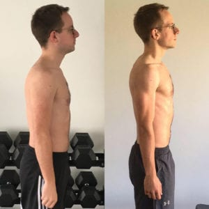 LEP Fitness client Ben loses weight and gets ripped