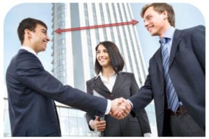 Make Good Eye Contact to sell personal training sessions