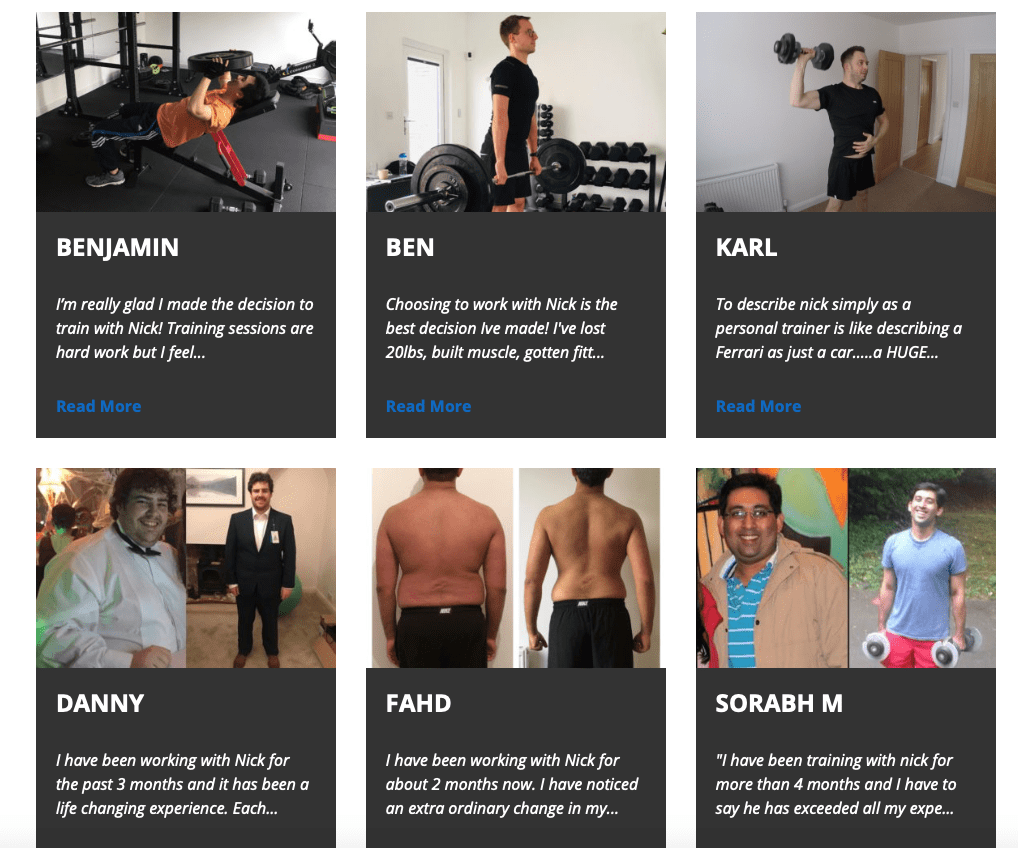 Testimonials by LEP Fitness | private personal training gym in sheffield